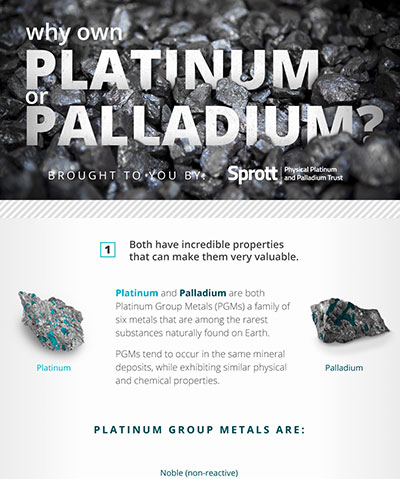 Why Own Platinum or Palladium?