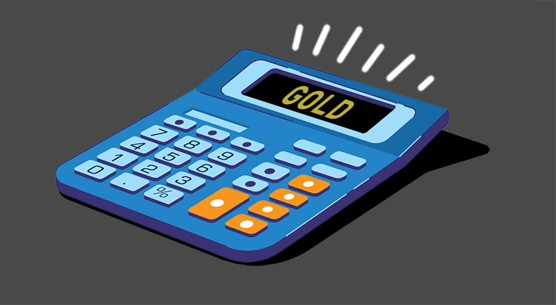 Gold, The Simple Math