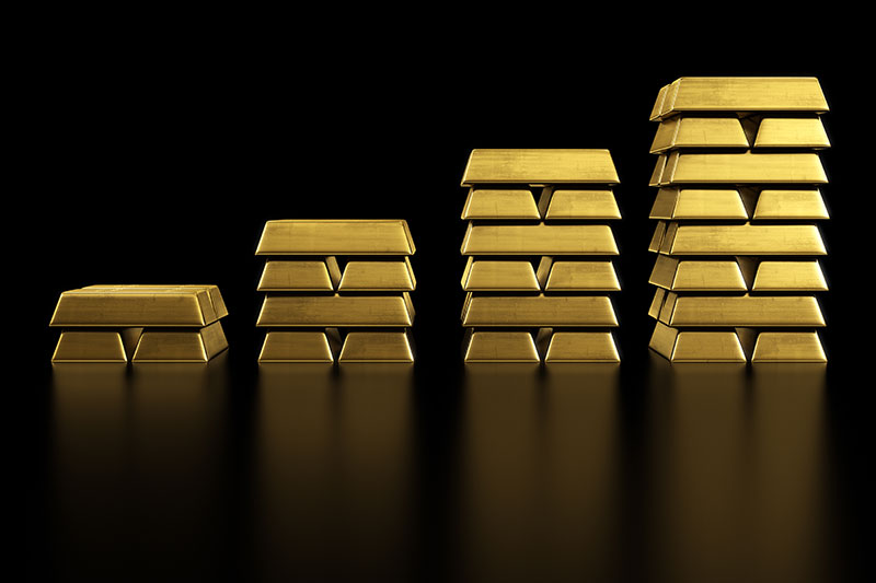 Gold Tests $1,800 Support